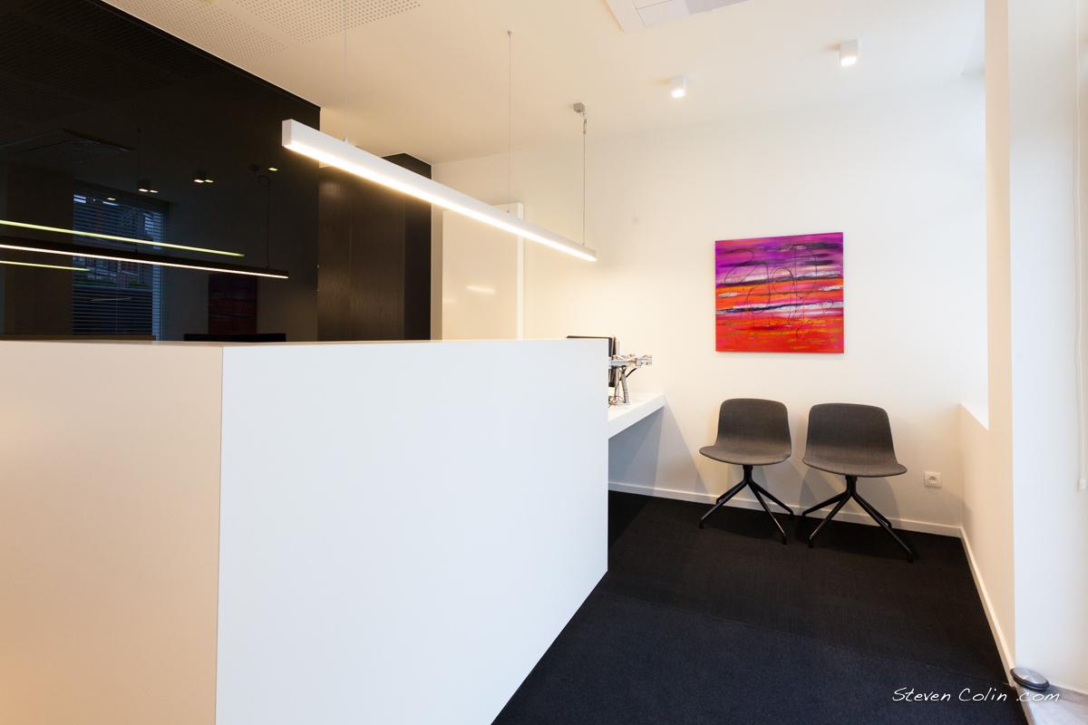 interieurvormgeving voor verzekeringskantoor