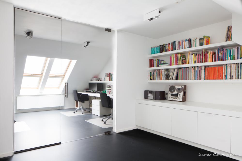 Zolderrenovatie voor thuiswerkplek