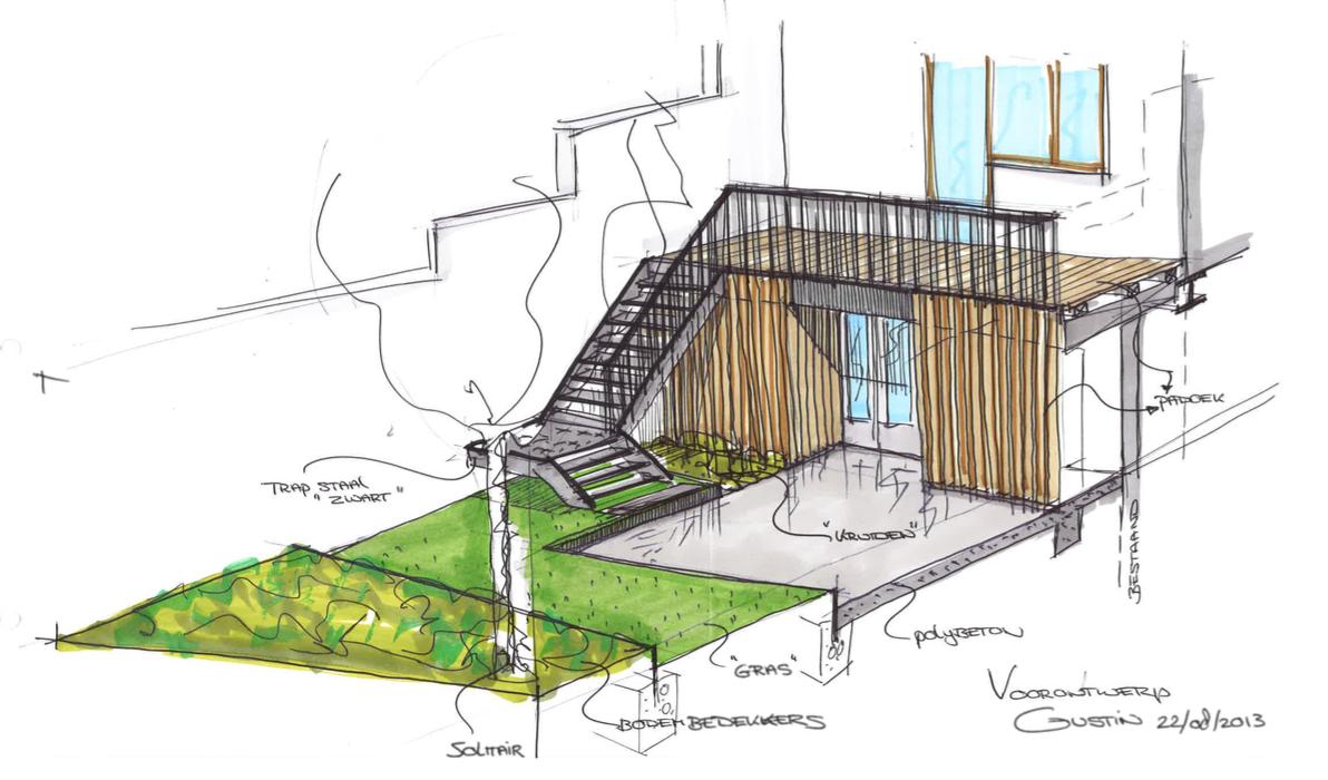 verbouwingswerken zorgen voor directe toegang naar tuin
