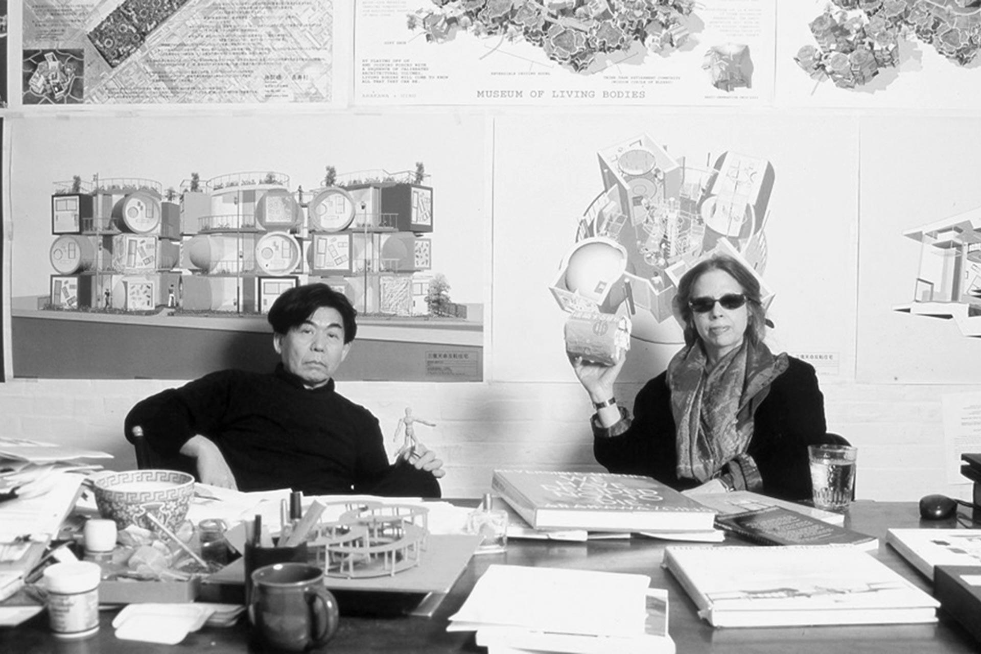 ShusakuArakawa (architect) en Madeline Gins (filosofe)