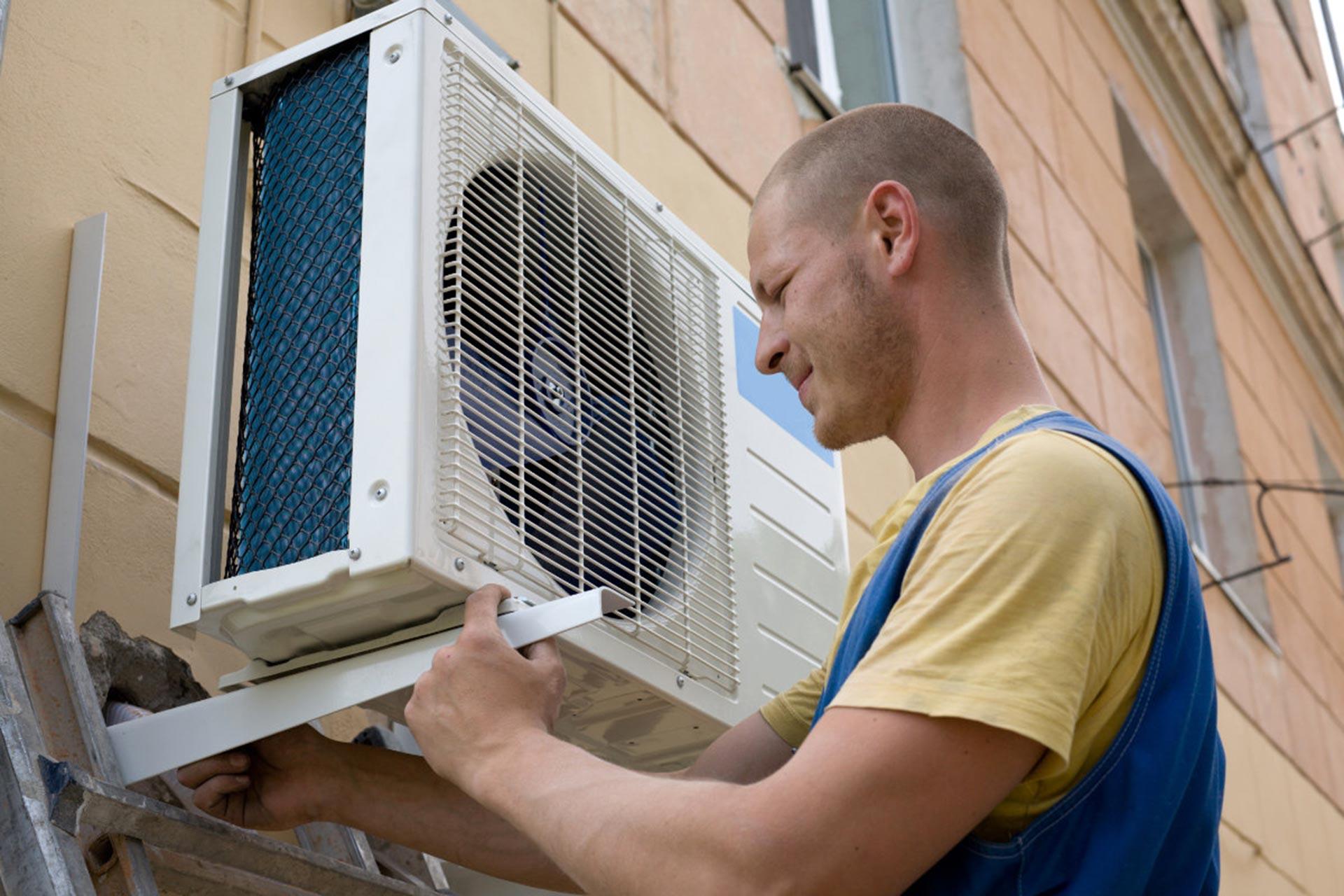 Huis renoveren: airco buitenunit