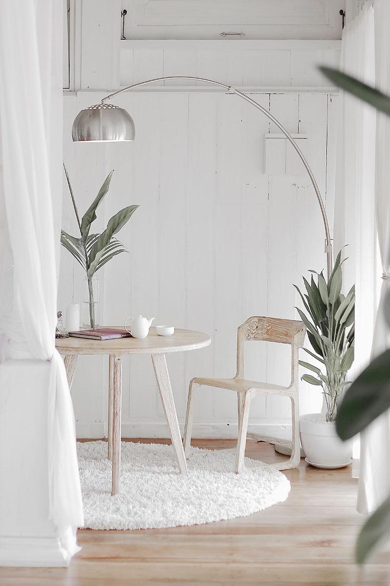 Zachte interieur setting