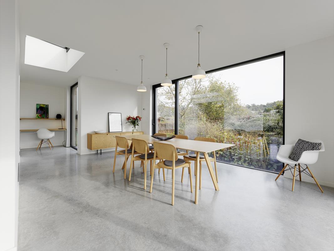 Aanbouw woning zorgt voor open en lichte benedenverdieping 5