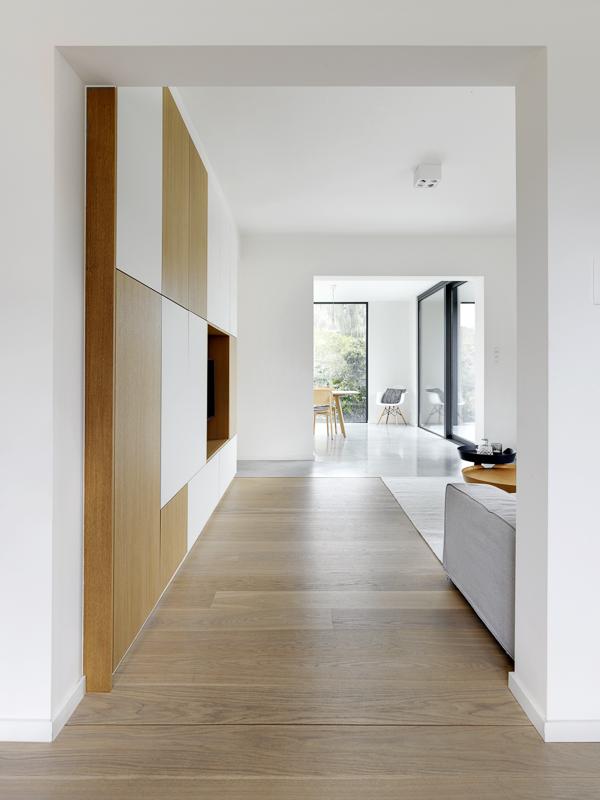 Aanbouw woning zorgt voor open en lichte benedenverdieping 7
