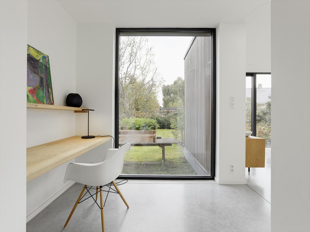 Aanbouw woning zorgt voor open en lichte benedenverdieping 8