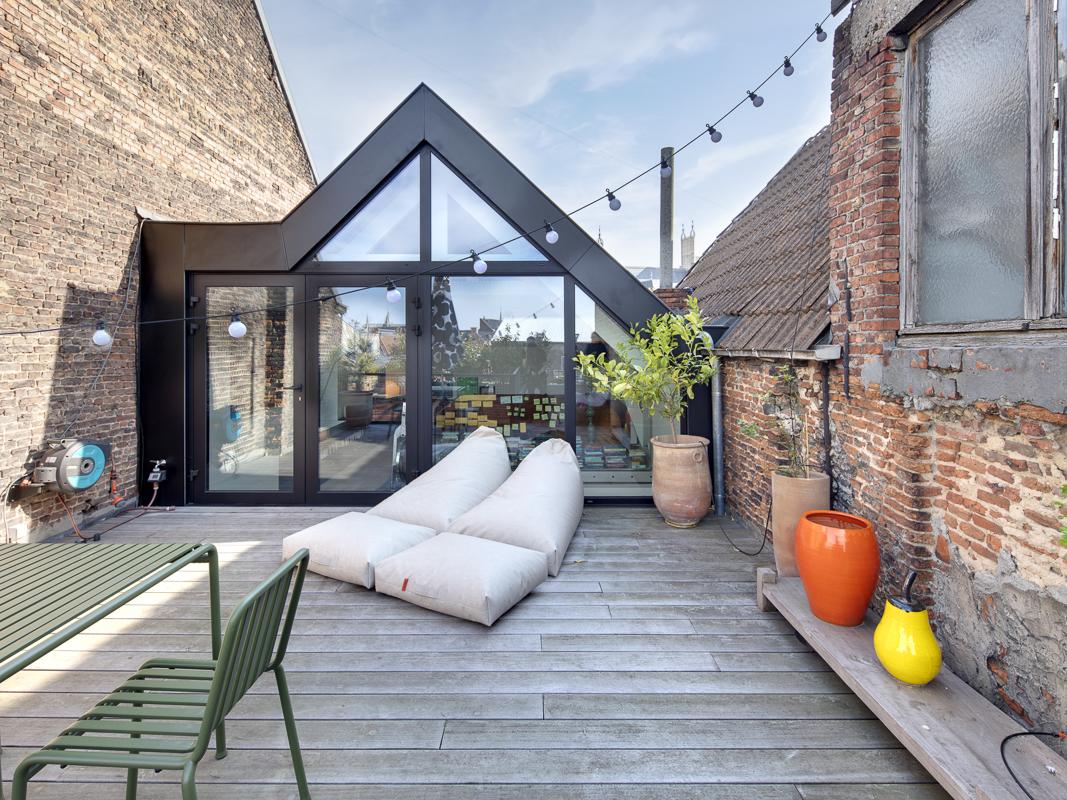 Renovatie met dakterras in Mechelen 7