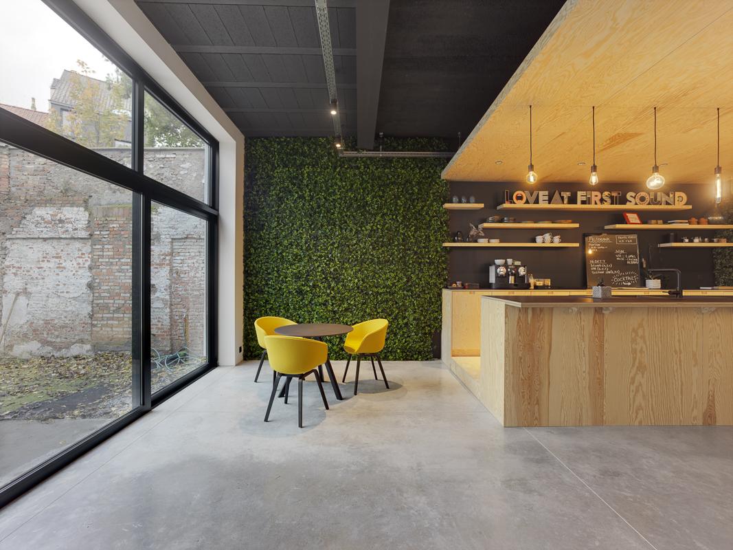 Totaalrenovatie kantoor Antwerpen Helsinki 10