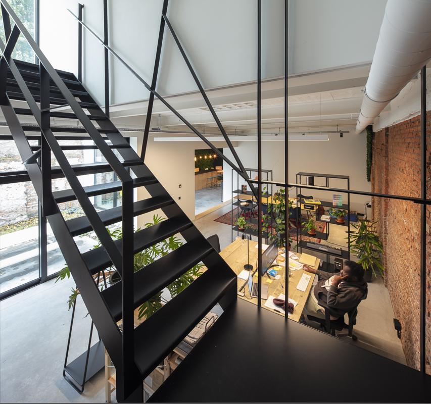 Totaalrenovatie kantoor Antwerpen Helsinki 8