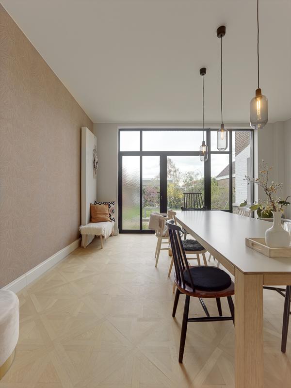 Verbouwing in Mechelen: ruimer wonen met minder oppervlakte