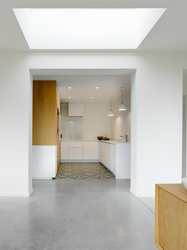 Interieurkabinet - dakvensters laten nog meer licht binnen