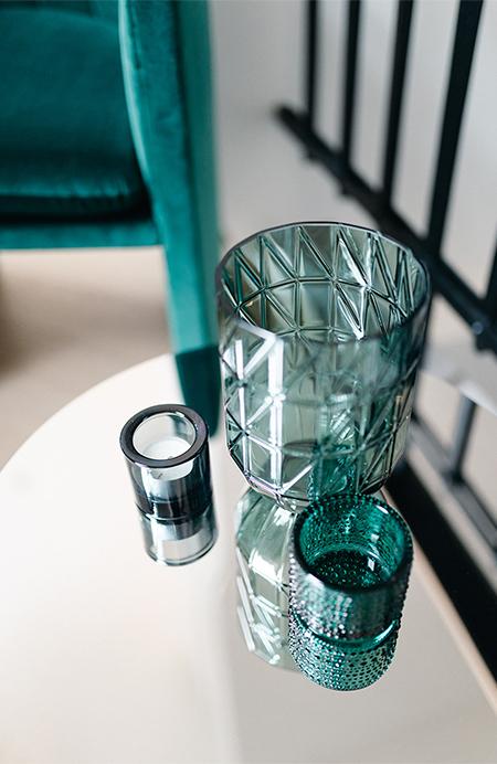Interieurkabinet - reflecterende en doorzichtige materialen maken dat een ruimte meer daglicht in huis laat